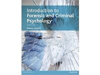 Introduction to Forensic and Criminal Psychology, Dr Dennis Howitt