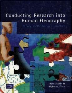 conducting research into human geography