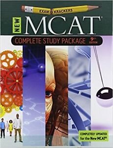 Examkrackers COMPLETE SET MCAT 9th Edition - GREAT CONDITION