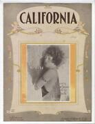 California Sheet Music