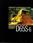 Construction Equipment Brochures