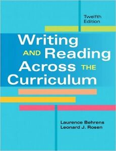 WRITING AND READING ACROSS THE CURRICULUM Gatineau Ottawa / Gatineau Area image 1