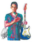 John Mayer Signed