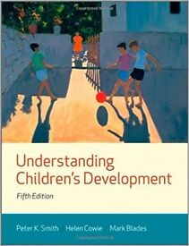 Understanding Children's Development by Peter K. Smith (Author), Helen Cowie (Author), Mark Blades