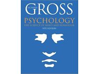 Psychology The Science of Mind and Behaviour 5th Edition by Richard Gross - £5 ONO Plus £3.20 P&P