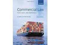 Sealy&Hooley, Commercial Law: Texts, Cases, and Materials