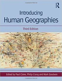 Introducing Human Geographies P.Cloke (barely used)