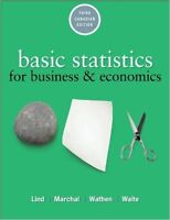 Basic Statistics for Business and Economics 3rd Cdn edition USED