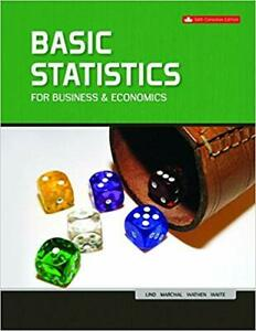 Basic Statistics For Business And Economics Ces Edition: 6TH