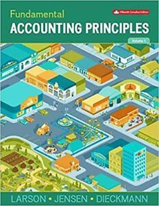 Fundamental Accounting Principles, Volume 1 - Larson