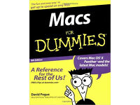 Macs for Dummies (David Pogue)