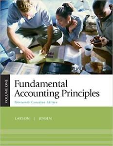 Fundamentals accounting principals