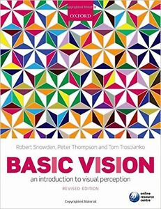 Basic Vision an introduction to visual perception London Ontario image 1