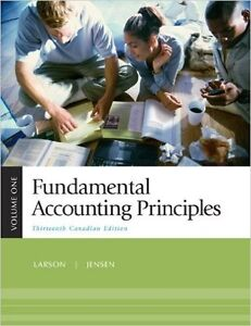 Fundamental Accounting Principles, Volume 1, Thirteenth CDN Edit