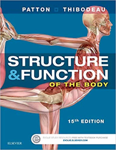 Structure and Function of the Body, 15th Ed