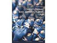 Constitutional and Administrative Law (Foundation Studies in Law Series) Alex Carroll