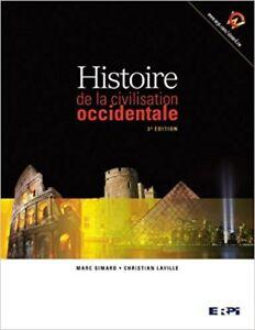 Histoire de la civilisation occidentale 3e éd Simard et Laville