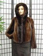 Womens Sable Fur Coat