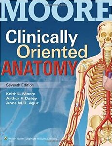 Clinically oriented anatomy 7th ed NEW
