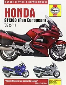 Haynes service manual for Honda st1300