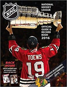 NHL Official Guide & Record Book 2016