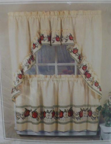 Apple Curtains Ebay