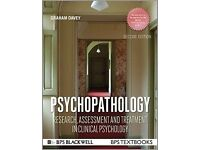 Psychopathology: Research, Assessment, and Treatment in Clinical Psychology BPS Graham Davey