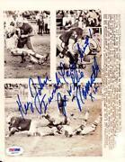 Jim McMahon Autograph