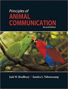Principles of Animal Communication, 2nd ed. (Bradbury/Vehrencamp