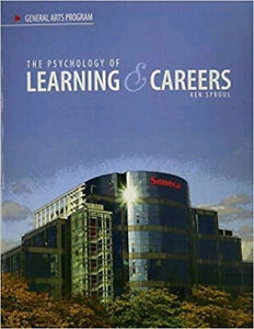 The Psychology of Learning & Careers textbook by Ken Sproul $40