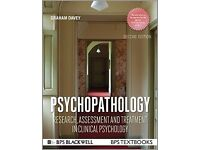 PSYCHOPATHOLOGY: research, assessment and treatment in clinical psychology (2nd Ed)