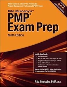Looking  to BUY PMP Exam Prep, Ninth Edition of Rita Mulcahy