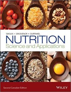 Nutrition - Science and Applications 2nd CA ED