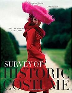 Survey of Historic Costume Book For Sale!
