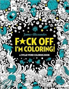 "Adult ""Swear Word"" Coloring Books"