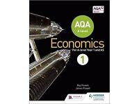 AQA Economics AS book 1