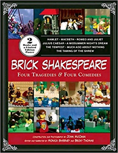 Brick Shakespeare: Four Tragedies & Four Comedies [With Poster]b