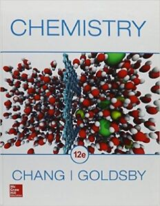 """Brand new """"Chemistry"""" by Chang, 12th edition, never used. $90"""