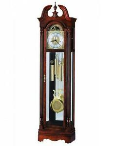 Howard Miller Grandfather Clock Cherry