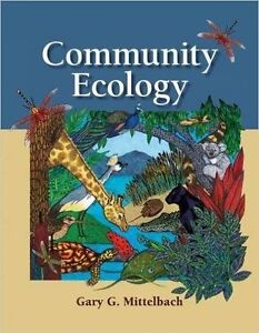 Community Ecology Textbook for Sale!!