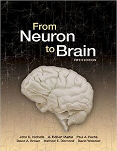 From Neuron to Brain -Hardcover, 5th edition