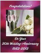 30th Wedding Anniversary