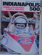Indy 500 Program