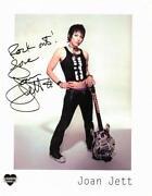 Joan Jett Signed
