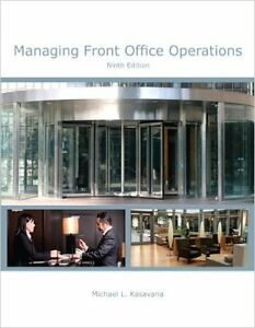 Managing Front Office Operations Textbook. 9th Edition