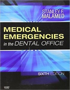 medical emergencies in the dental office 6th edition