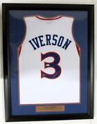 Signed Framed Jersey