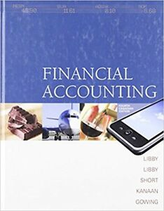 Financial Accounting 4th Canadian Ed + Connect Access Card Libby