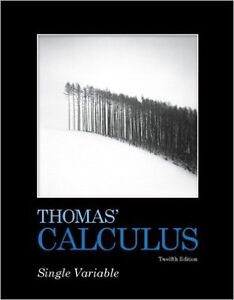 Thomas' Calculus 12th Edition w/ Solutions Manual