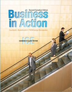 Business in Action, Second Canadian Edition